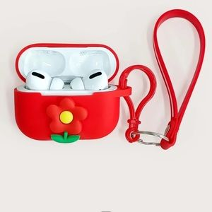 SHEIN Red AirPods Pro Case!